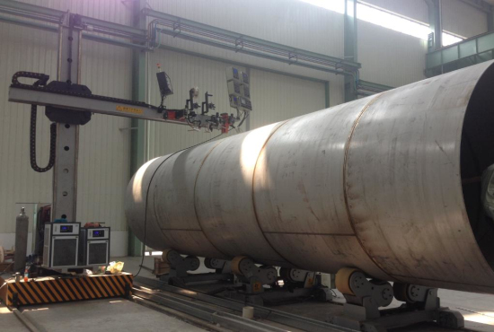 化工容器 lng压力罐焊接生产线